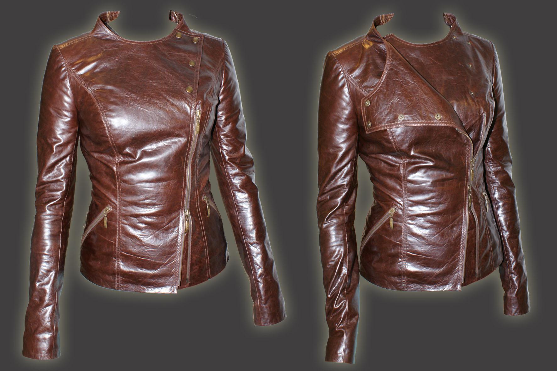 Как сшить кожаную куртку своими руками женскую